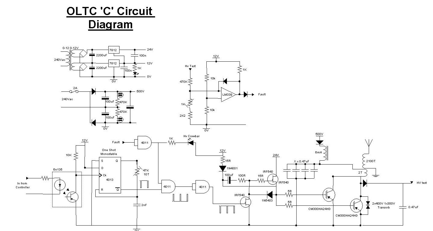 OLTC II | Extreme Electronics Oltc Series Schematic Diagram on