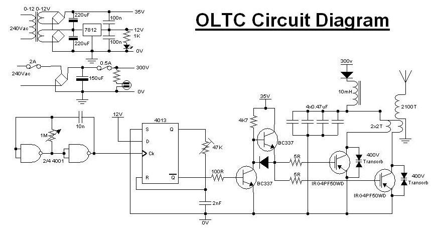 OLTC Oltc Series Schematic Diagram on