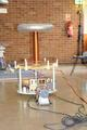 Jasons 1Kw DC charging Tesla Coil
