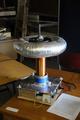 Dereks Halo Solid State Tesla coil