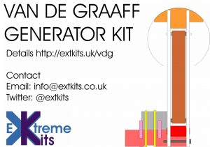 Van de graaff let a miniature vdg extreme electronics update i now offer a van de graaff based on this device as a kit ccuart Images