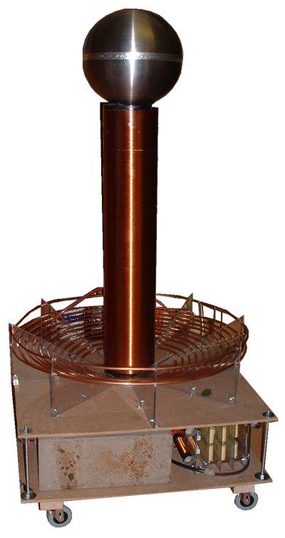 Big Tess (Classic Tesla Coil)   Extreme Electronics