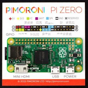 Pi Zero Pinout