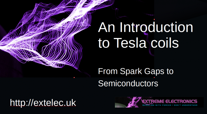 Tesla Coil Talk at Leeds Uni